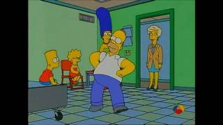 Canciones Simpson 14x20 Homer - La raspa