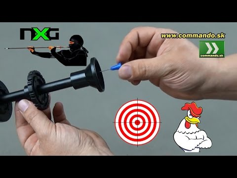 NXG Fúkačka Blowgun Review