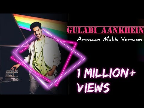 Thumbnail: GULABI AANKHE!N (2.O) |ARMAAN MALIK VERSION | NOOR | FULL HD VIDEO From The Aftermovie Live