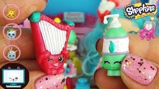 Шопкинс 5 сезон Браслеты Шармы, Рюкзачки с Сюрпризами и Светящиеся фигурки Обзор игрушек для девочек