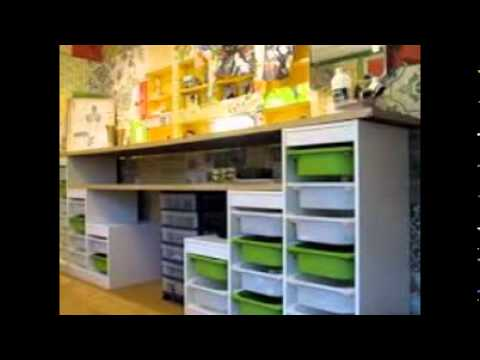 Kids Art Tables With Storage   YouTube