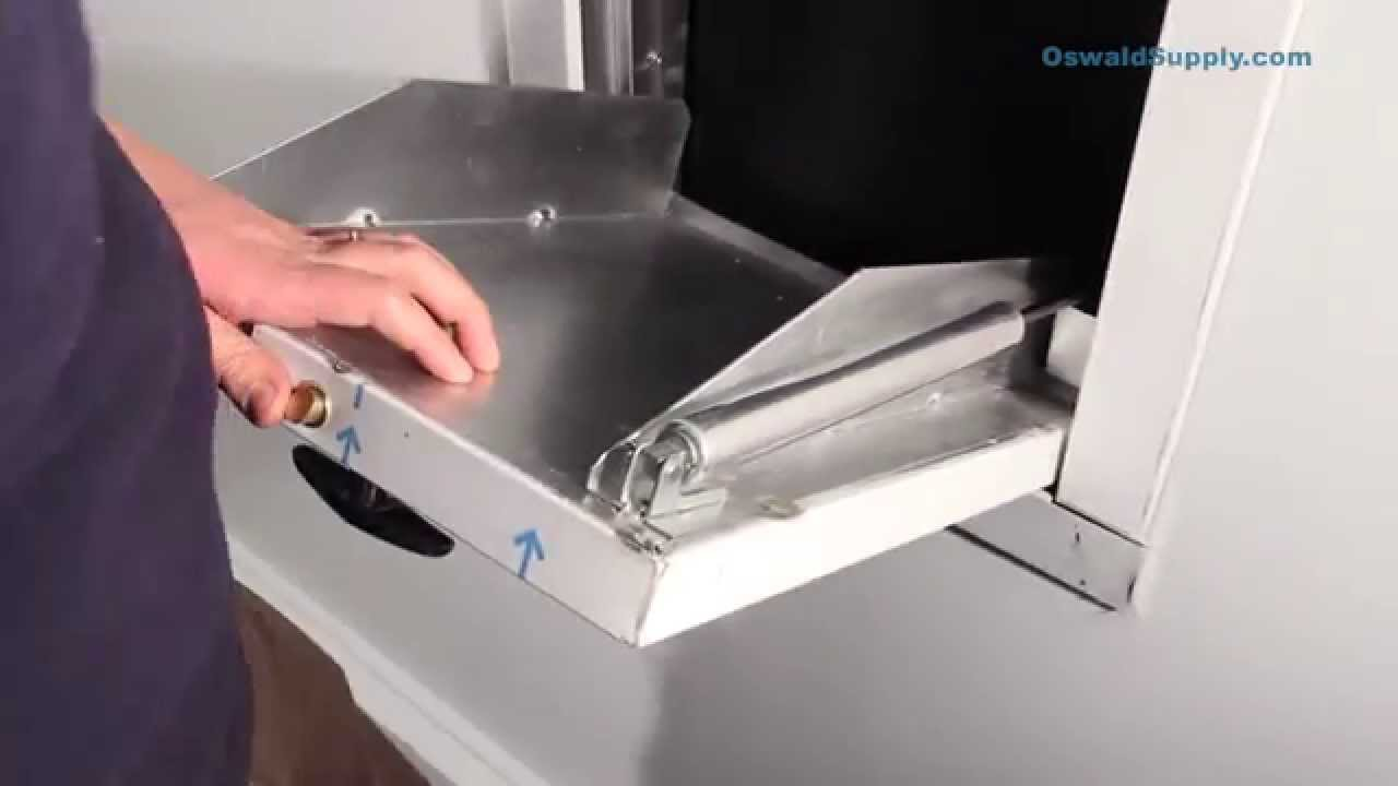 & How to Replace Trash Chute Door Closer - YouTube