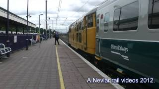Network Rail 31602 drags Chiltern Mk3 at Ealing Broadway working 5Z31.