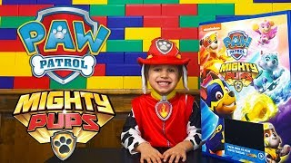 MIGHTY PUPS PAW PATROL Toys And New Movie FUN!