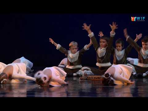 Северный танец   подготовительная и младшая группы. Детский танец