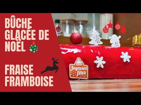 🎄-bÛche-de-noËl-fraise-framboise-🎄---justcooking