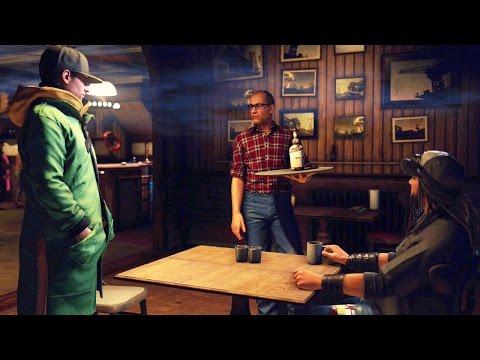 Watch Dogs #19: Minigame Alcoólico com o Hacker Lendário - PS4 HD gameplay Br