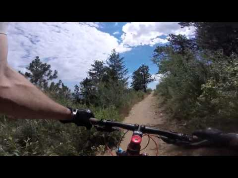 Derrick's Mountain Bike Trail Rides Around Denver: Apex Trail To Pick And Sledge Loop