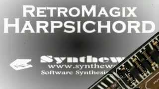English Suite No.6 in D minor BWV811 (Johann Sebastian Bach) Syntheway RetroMagix Harpsichord VST