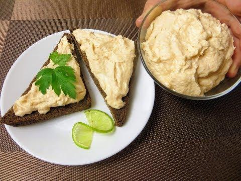 Деликатесная помазка для бутербродов / Крем-фиш из обрезков рыбы