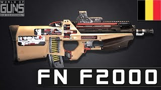 How does FN F2000 rifle work?
