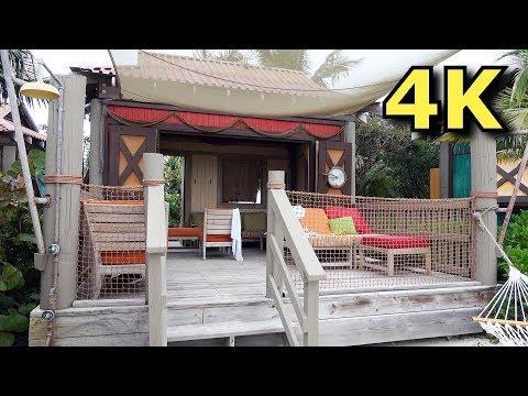 Cabana Rental On Castaway Cay - Beach Access & More - Disney Cruise Line - DCL - 4K