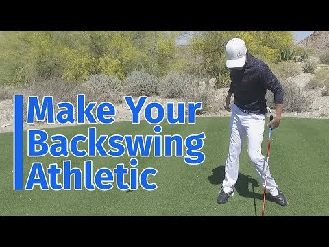 Make Your Backswing Athletic for More Power (and More Control)