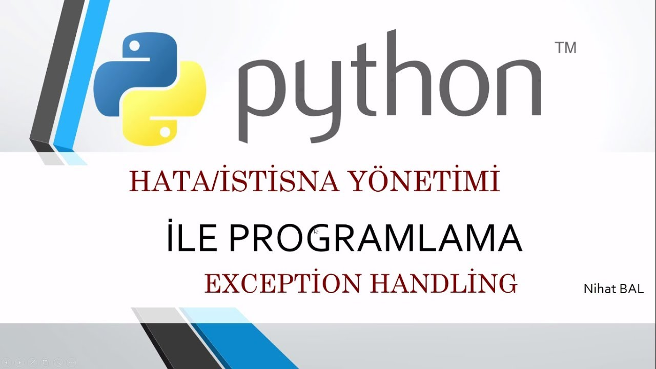 python try catch