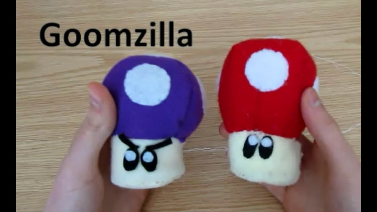 Make Your Own Mushroom Plush Youtube