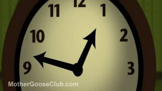 Hickory Dickory Dock Animated - Mother Goose Club Playhouse Kids Song