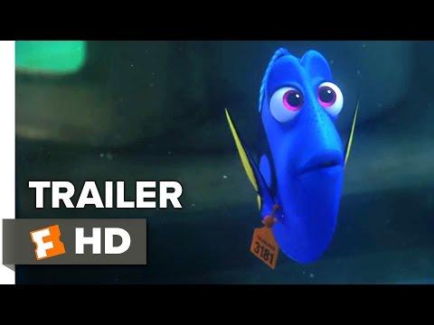 Finding Dory Official TRAILER 1 (2016) - Ellen DeGeneres, Idris Elba Animated Movie HD