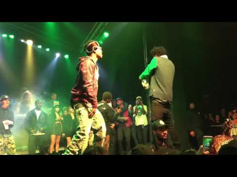 "Rich The Kid ""Plug"" Feat. Kodak Black & Playboi Carti live Santa Ana"