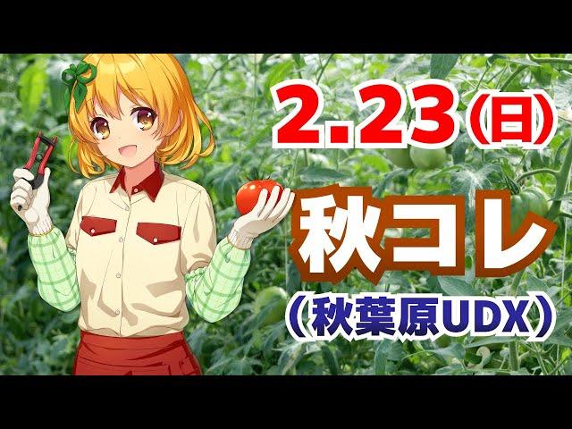 2/23、秋コレ参加します!