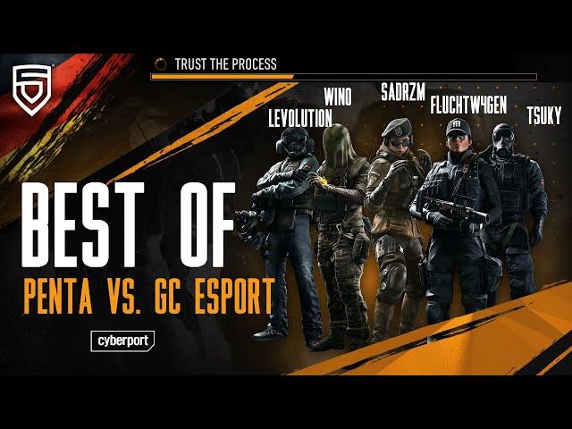 Best of GSA League 2021   PENTA vs. GC ESPORT  Rainbow Six Siege   #ThisisPENTA