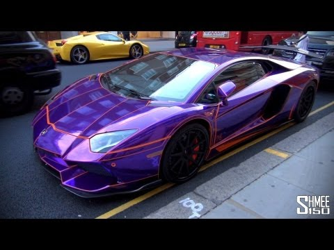 The Great London-Arabic Supercar Motorshow 2013 [100k Subscriber Special]