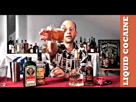 How To Make The Liquid Cocaine Cocktail Recipe