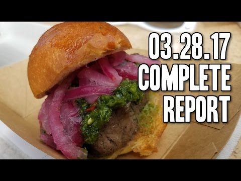 The week we ate ALL of the food - 03/25/2017
