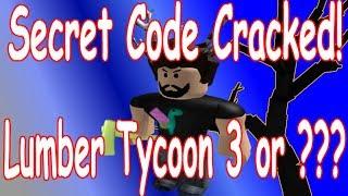 Code secret résolu! : Bois de Tycoon 2: Roblox (bois Tycoon 3?)
