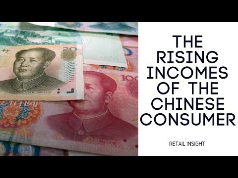 The rising incomes of the Chinese consumer