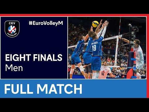 France vs. Czech Republic - CEV EuroVolley 2021 Men | Eight Finals