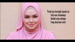 Siti Nurhaliza - Kasihku Selamanya (Official Minus One/Male Key & Lyrics)