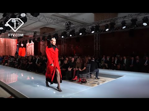Russian fashion and beauties in the last collection of Ekaterina furs | FTV | FashionTV