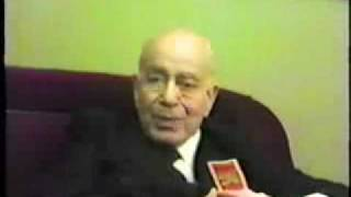 Plinio Corrêa de Oliveira - The Cause of the Christian Civilization, 27 oct 1982  Part 1