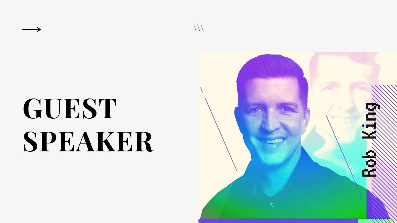Guest Speaker Pastor Rob King | The Ark Church Online