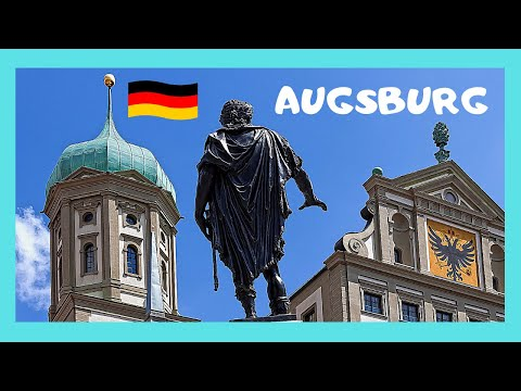 AUGSBURG: One of GERMANY'S OLDEST CITIES, what to see in 4 hours