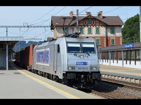 Vlaky Ústí nad Orlicí 24.8.2017