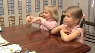 Обучение детей счету. Методика С. Полякова. Видеофрагмент 4