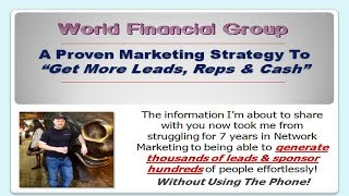 World Financial Group | The Success Formula Revealed