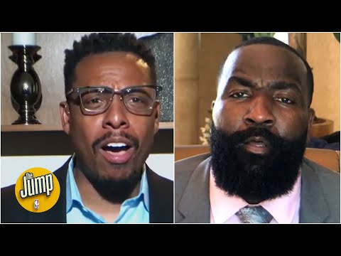 Pierce & Perk get HEATED talking about LeBron and Giannis | The Jump