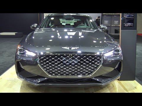 2019 Genesis G70 2.0T Exterior And Interior Walkaround 2018 Quebec Auto Show