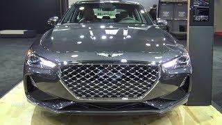 2019 Genesis G70 2.0T - Exterior And Interior Walkaround - 2018 Quebec Auto Show