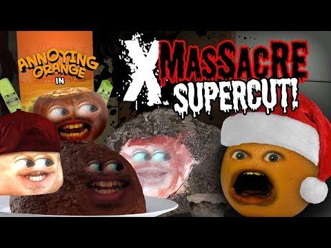 Annoying Orange - X-Massacre Supercut!