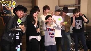 [3/4] 150307 BTS - MBC C-Radio Idol True Colors [polskie napisy, polish subs / PL]