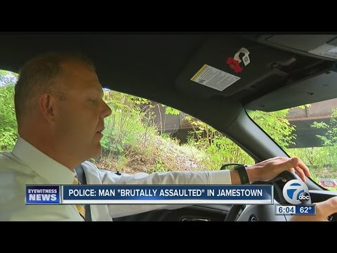"Police: Man ""brutally assaulted"" in Jamestown"