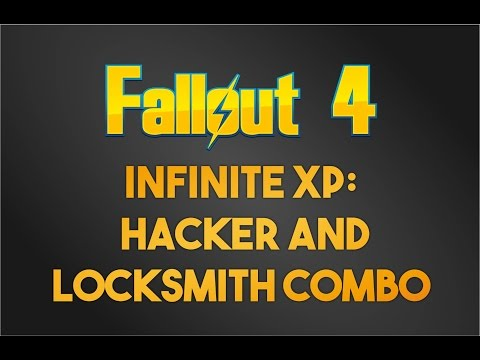 Fallout 4 Infinite XP: Hacker and Locksmith Combo
