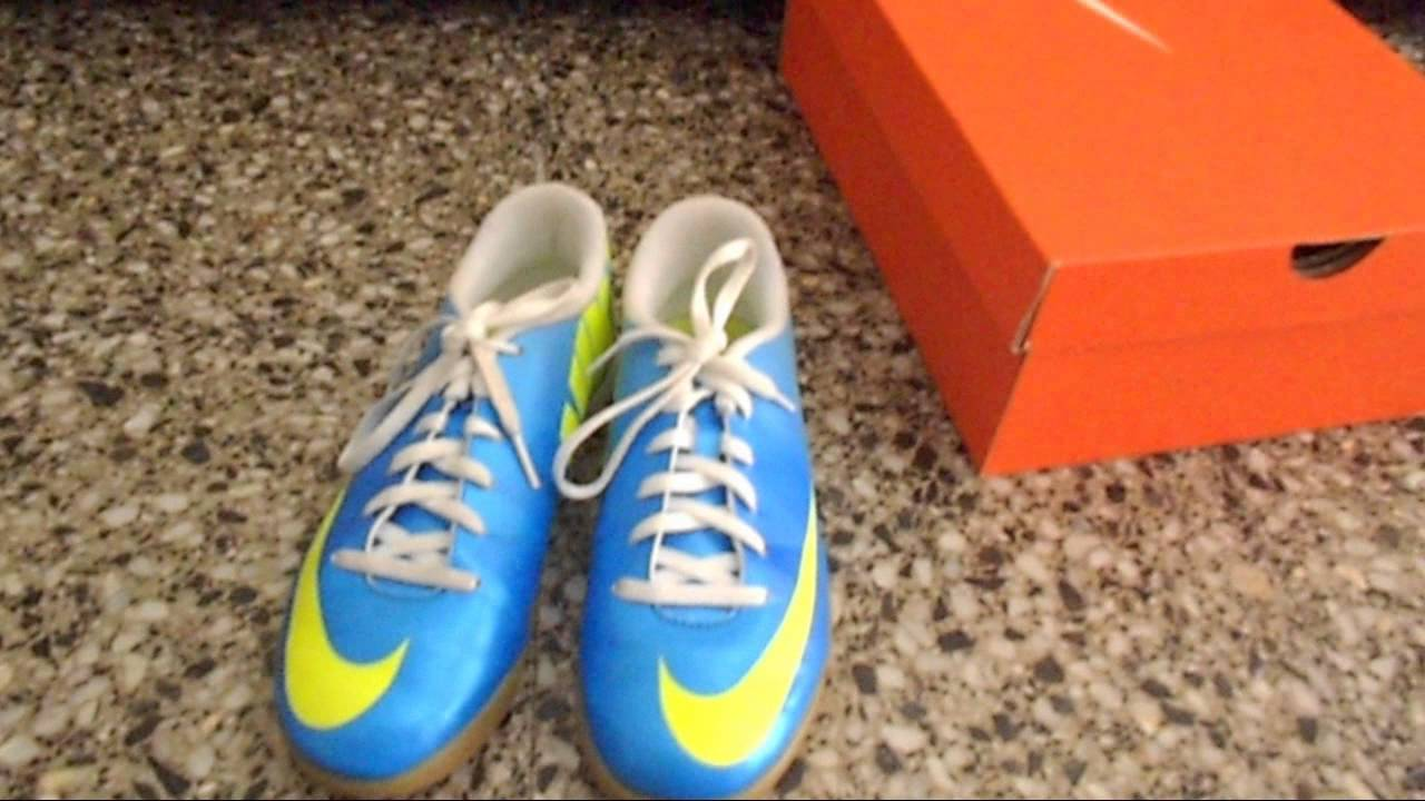 Unboxing - Nike Mercurial Vortex IC (Neptune Blue) HD - YouTube a4acbb4e575cc