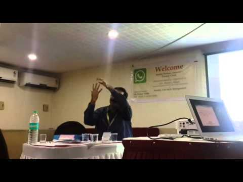 Health Lecture by Dr. Pranay Sinha, M.D., AIIMS Hospital, New Delhi