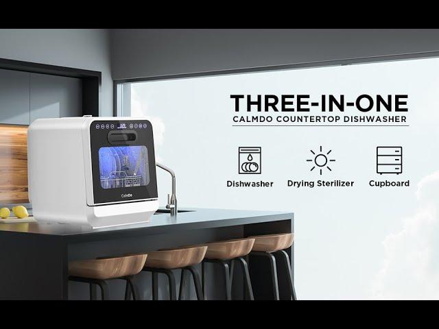 CalmDo Portable Countertop Dishwasher #Giveaway | CaribbeanPot.com