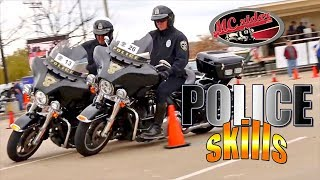 Police Motorcycle - Motor Cops Own Skills Course - MCrider