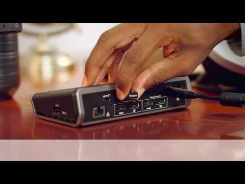 VersaLink™ USB-C And Thunderbolt™ 3 Compatible Universal Docking Station | DSU400US